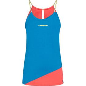 La Sportiva Class Tank Women, niebieski/czerwony